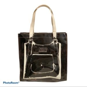 Ted Goes Vinyl Ted Baker Purse Design Large Tote